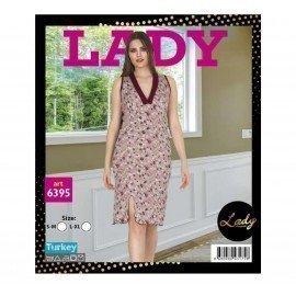 Lady Art 6395 Kısa Kol Tunik Gecelik