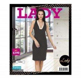 Lady Art 6390 Kısa Kol Tunik Gecelik