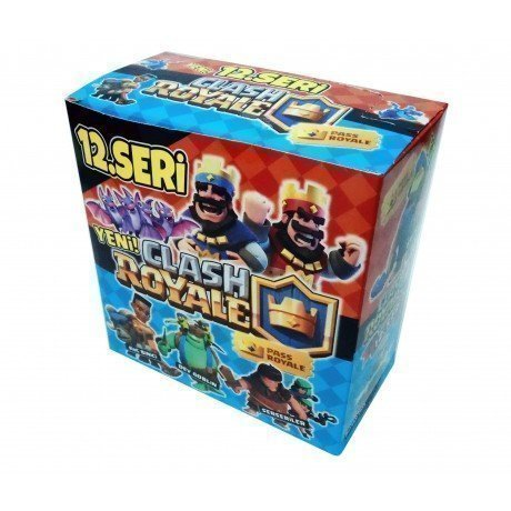 Clash Royale 12. Seri Kart Oyunu