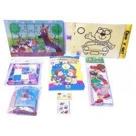 Evde Kal Çocuk Aktivite Paketi 3, Puzzle - Origami, Kum Boyama