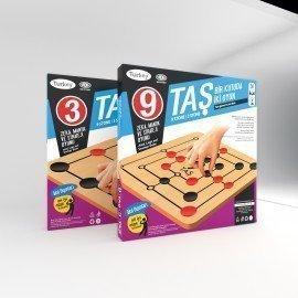 Redka 9 Taş - 3 Taş : Dokuz Taş - Üç Taş Oyunu