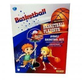 Ayaklı Seyyar Basketbol Pota Seti