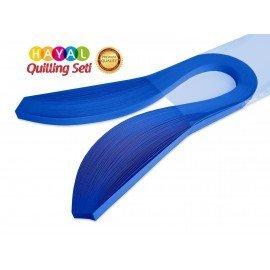 3 mm Koyu Mavi Renk Quilling Kağıdı - 100'lü