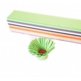 2cm X 25 cm 15 Renkli 150 Adetli Karışık Quilling Kağıdı