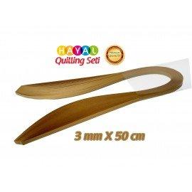 3mm Muz Sarısı Renk Quilling Kağıdı - 100'lü