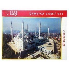 1000 Parça Çamlıca Camii Resimli Puzzle Yapboz