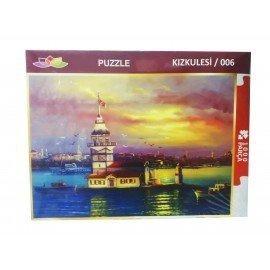 1000 Parça Kız Kulesi Resimli Puzzle Yapboz