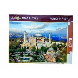 1000 Parça Ayasafya Resimli Puzzle Yapboz
