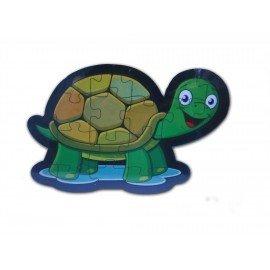 Kaplumbağa Şekilli Ahşap Puzle Yapboz Yeni Ürün