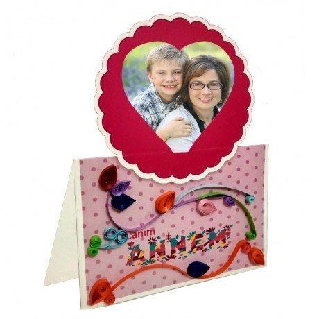 Anneler Günü Quilling Masaüstü Kart Tasarım Seti