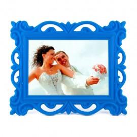 Dekoratif Plastik Fotoğraf Çerçevesi Beyaz Renk