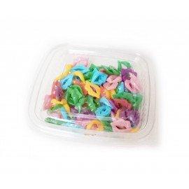 Plastik Dudak Ağız 100 Adetli