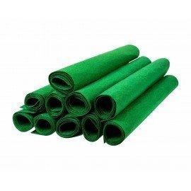 Keçe 50 cm X 70 cm - 2mm Kalınlıkta Yeşil Renk