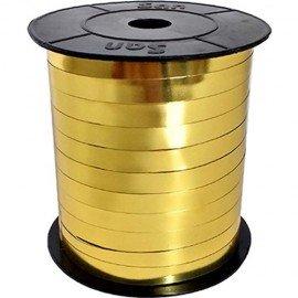 Metalik Altın Sarı Renk Rafya