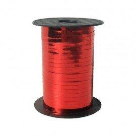 Metalik Kırmızı Renk Rafya