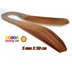 Quilling Kağıdı - Hardal Sarısı Renk 5mm 100'lü