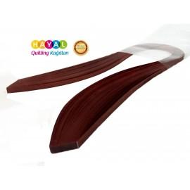 Quilling Kağıdı - Kızılaçalan Renk 1,5 mm 100'lü