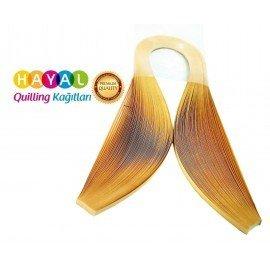 Quilling Kağıdı - Nubuk Sarı Renk 3mm 100'lü
