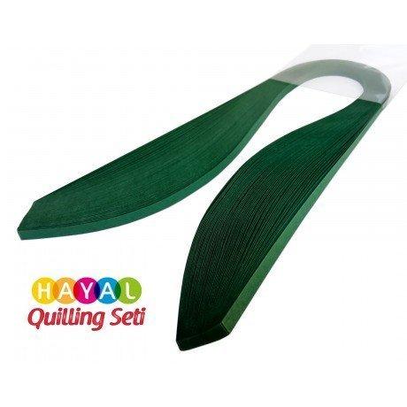 Quilling Kağıdı - Petrol Yeşili Renk 5mm 100'lü
