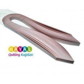 Quilling Kağıdı - Açık Pembe Renk 1cm 100'lü