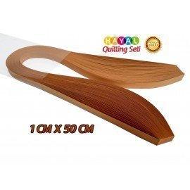 Quilling Kağıdı - Hardal Rengi 1cm x 50cm 100'lü