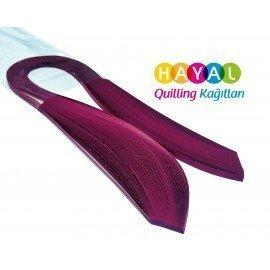 Quilling Kağıdı - Menekşe Renk 1cm 100'lü