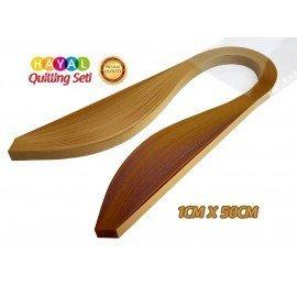 Quilling Kağıdı - Muz Sarısı Rengi 1cm x 50cm 100'lü