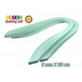 Quilling Kağıdı - Buz Yeşili 200'lü