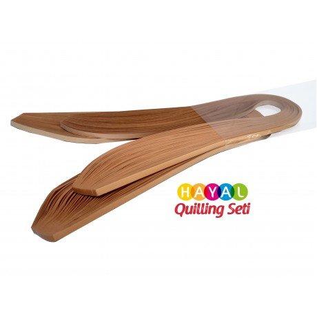Quilling Kağıdı - Hardal Sarısı Renk 200lü